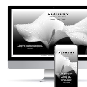 Alchemy Financial Solutions website